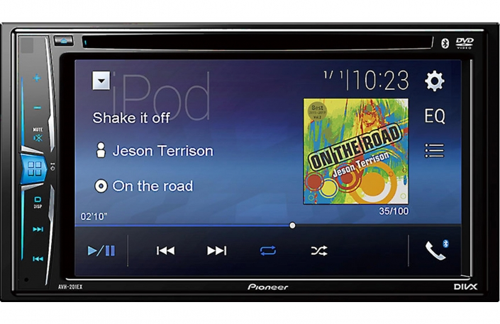 Pioneer bluetooth touch screen DVD player